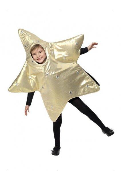 Dětský kostým Vánoční hvězda - výprodej z půjčovny