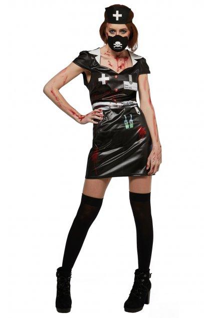 Černá sestra - dámský kostým Halloween