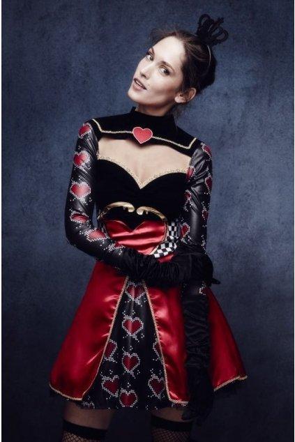 Kostým Sexy královna srdcí - výprodej z půjčovny