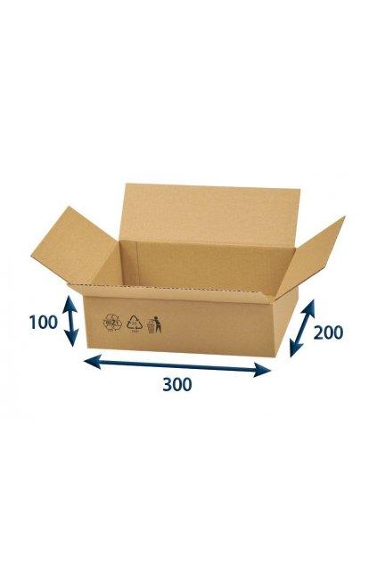 thumb full kartonova krabice 300x200x100 3vvl klopova