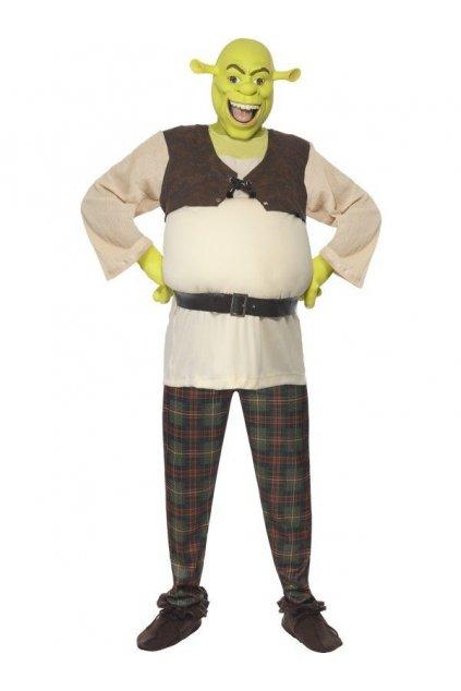 Kostým Shreka - výprodej z půjčovny