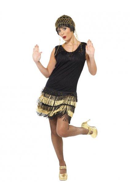 Kostým Fringer flapper - výprodej z půjčovny
