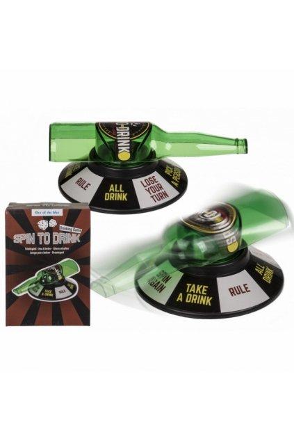 Flaška - alkoholová hra