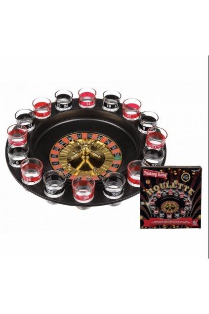 Ruleta - alkoholová hra
