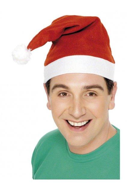Santa čepice s obrázkem - výprodej