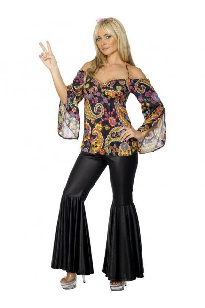 Kostým - Hippiesačka - výprodej
