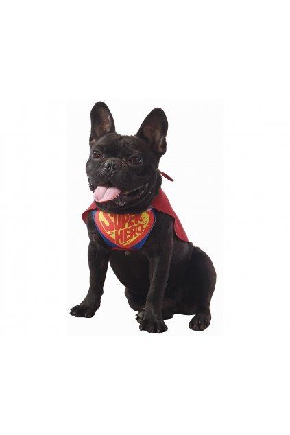 stroj dla psa super bohater