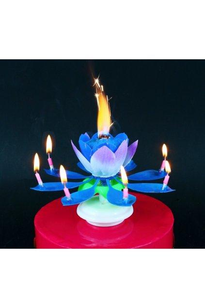 swieczka grajaca tanczaca niebieska (1)