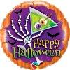 Happy Halloween - nafukovací fóliový balónek 46cm