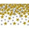 Vánoční konfety - hvězdy