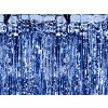 Párty opona modrá - 2,5m x 0,9m