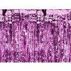 Párty opona růžová - 2,5m x 0,9m