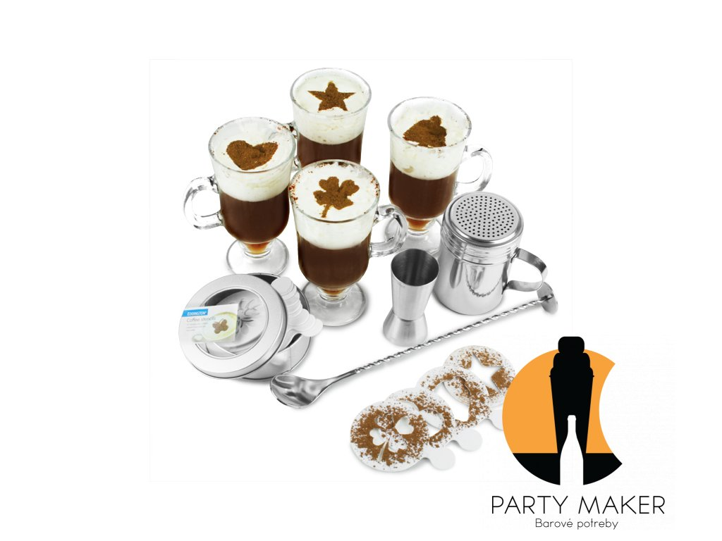 Írsky servírovací kávový set