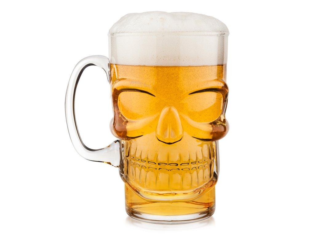 Final Touch lebka pivový krčah 23.7oz / 700ml