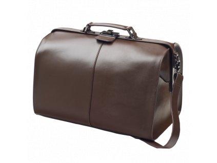 Koženná barmanská taška (hnedá)