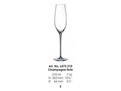 Pohár na šampanské Celebration 210ml