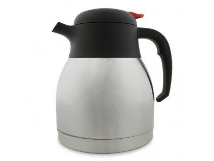 Nerezová vzduchotesná kávová termoska 1L