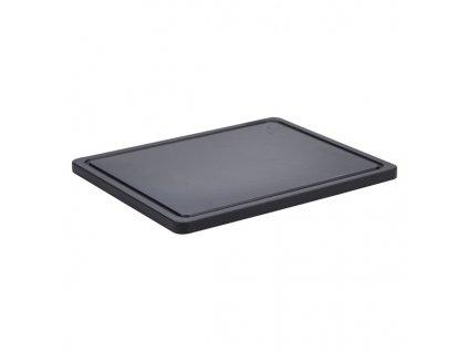 Protišmyková barová doska čierna 32.5 X 26.5 X 1.4cm