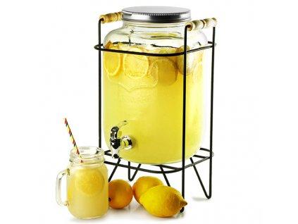 Yorkshire Mason Jar nápojový zasobník so stojanom 8ltr