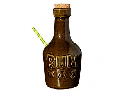 Rum fľaša Tiki pohár 350ml / 12oz