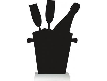 Reklamná tabuľa Šampanské