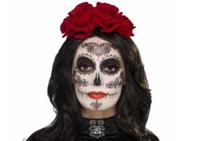 Makeup a líčení na Den mrtvých (Sugar Skull)