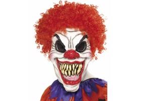 Strašidelné masky na Halloween
