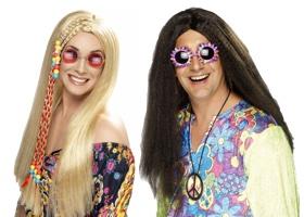 Hippies paruky