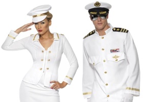 Karnevalové kostýmy pro námořníky