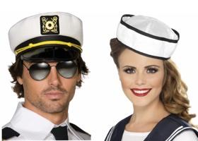 Doplňky a dekorace na námořnickou párty