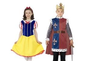 Karnevalové kostýmy pohádkových postav pro děti