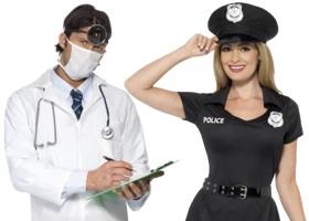 Karnevalové kostýmy na téma Profese a povolání