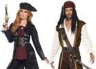 Kostýmy a doplňky pro piráty