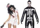 Kostýmy a doplňky pro zombie a kostlivce