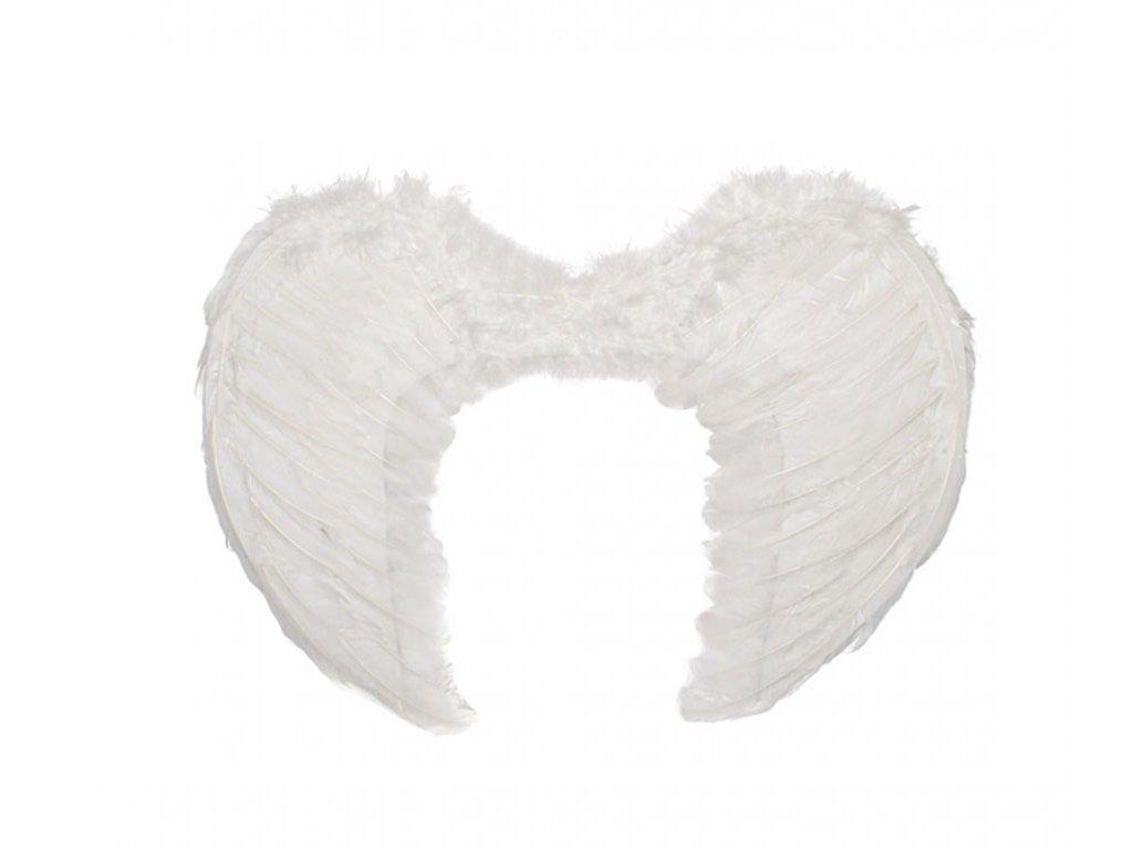 Andělská křídla bílá malá 45x35cm