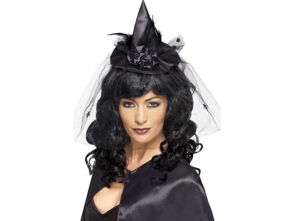 Mini klobouk Čarodějnice