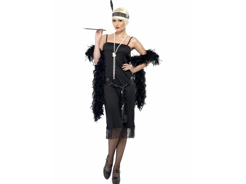 Dámské retro šaty 30. léta