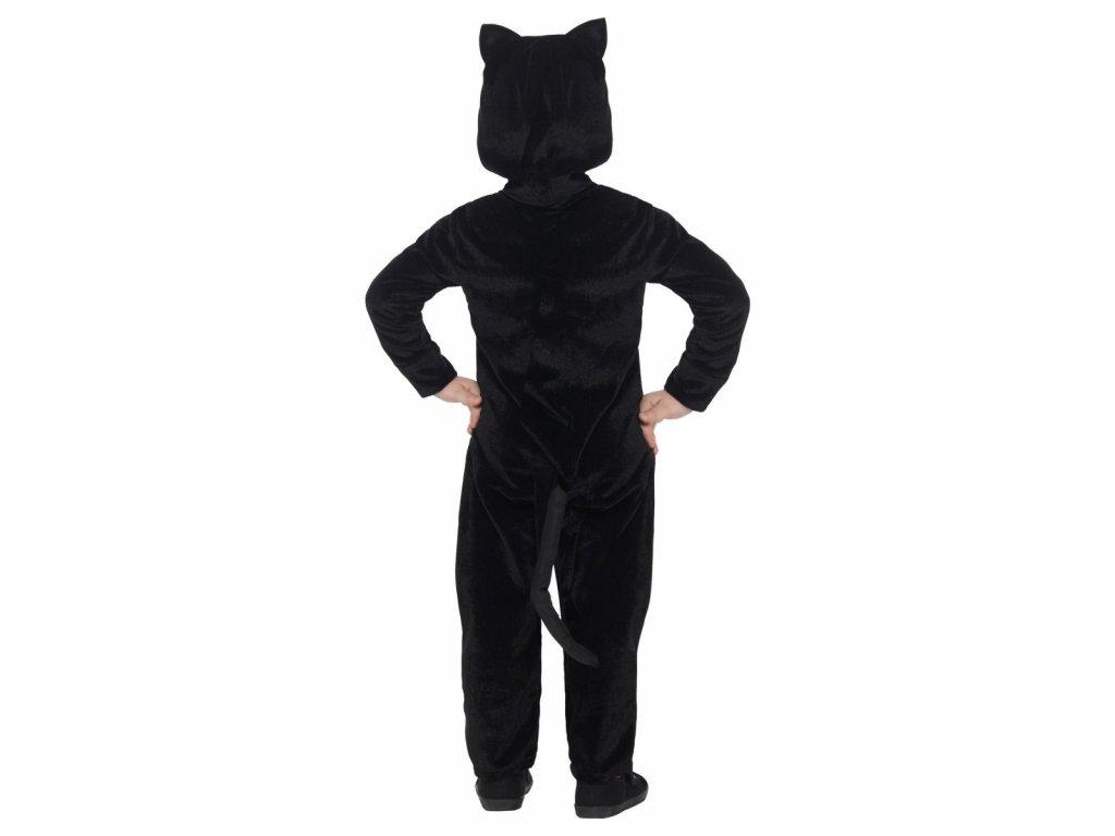 Chlupatá kočička černá dáma