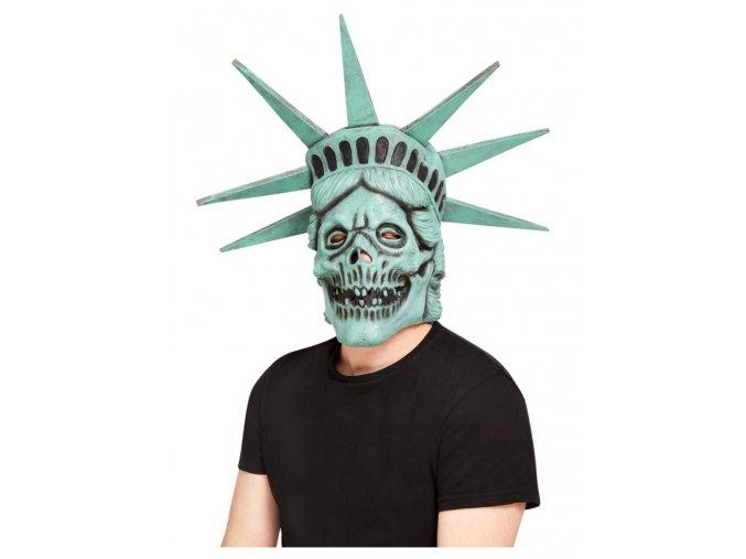 Maska zombie Socha Svobody