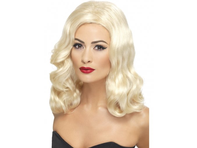 Paruka Retro Hollywood blond