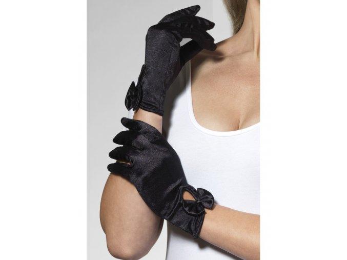 Elegantní rukavice s mašlí