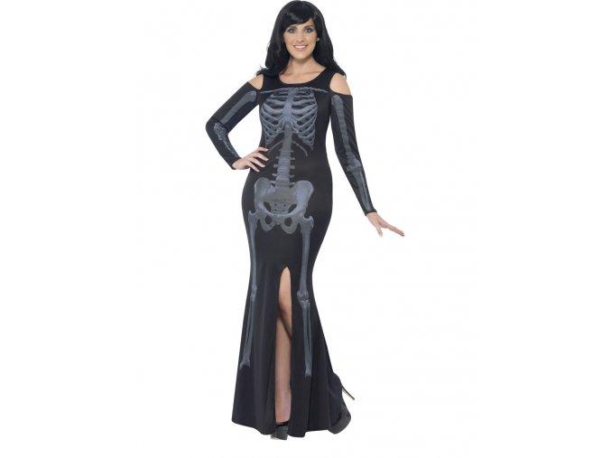 Dámský kostým Kostlivka (plus size)