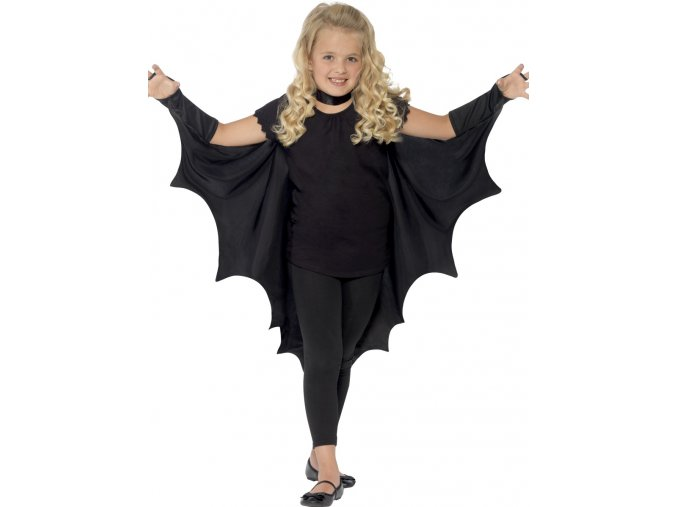 Dětský upíří plášť (křídla)
