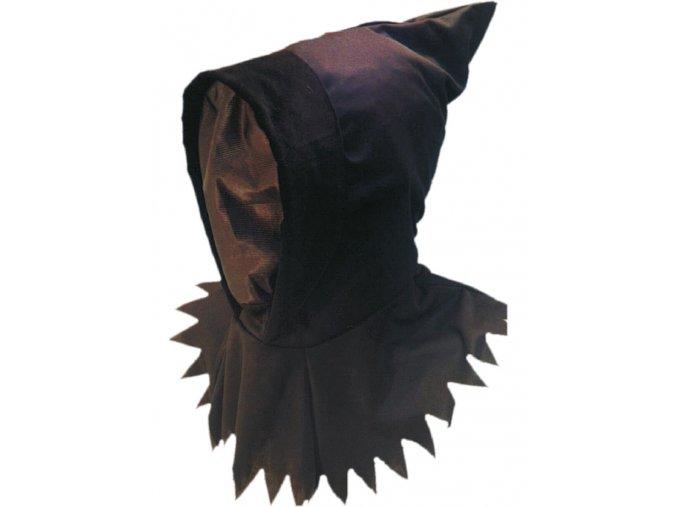 Černá kapuce Temný přízrak