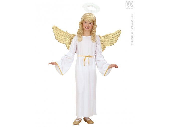 Dívčí andělský kostým