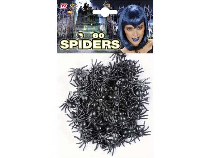 Dekorace pavouci 60ks