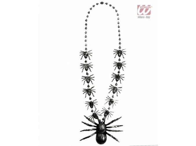 Čarodějnický náhrdelník Pavouci
