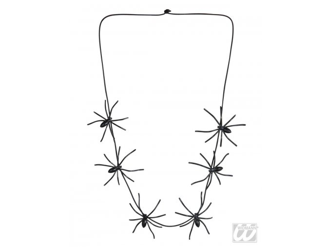 Čarodějnický náhrdelník s pavouky