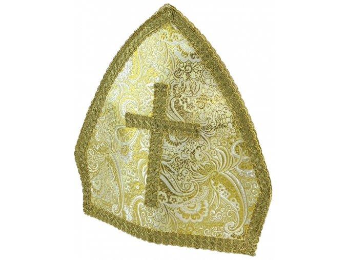 Čepice Mikuláš zlatá