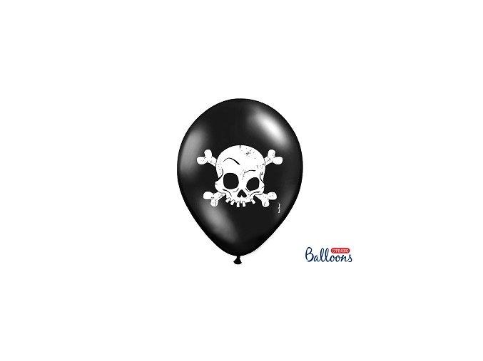 Balónek lebka, 30cm